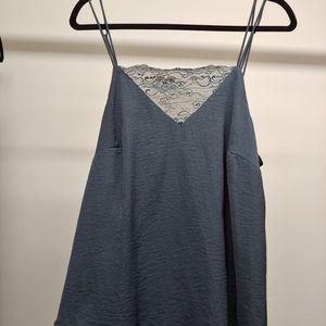 Blue/grey camisole